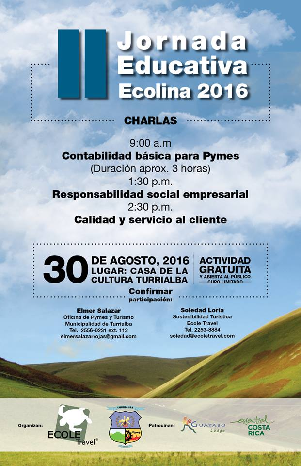 Jornada Educativa Ecolina 2016