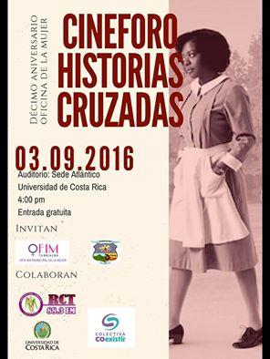 Cine Foro Historias Cruzadas 3 Septiembre 2016