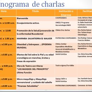 Cronograma de Charlas CoopeAnde